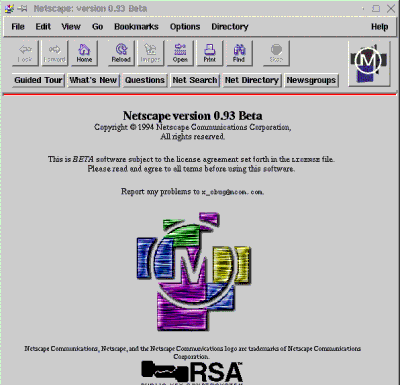 My first Netscape